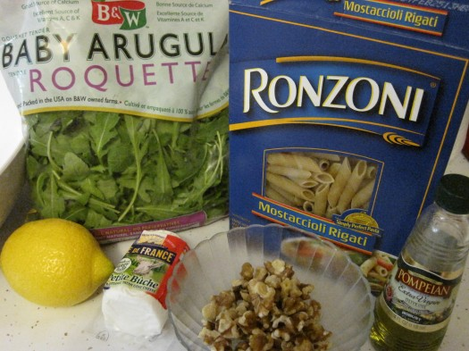 Arugula Pasta_Ingredients