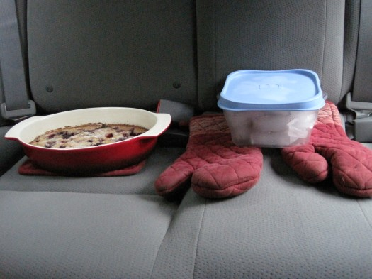 Cobblers in the car