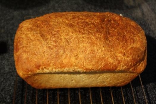 Top View of 10 Grain Bread