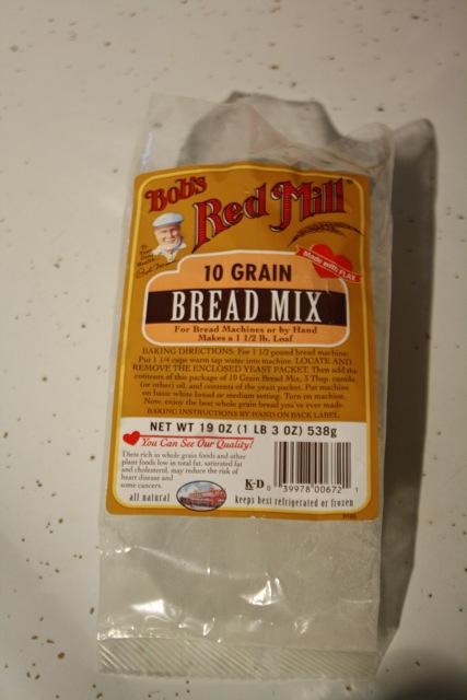 Bob's Red Mill 10 Grain Bread Mix Packaging