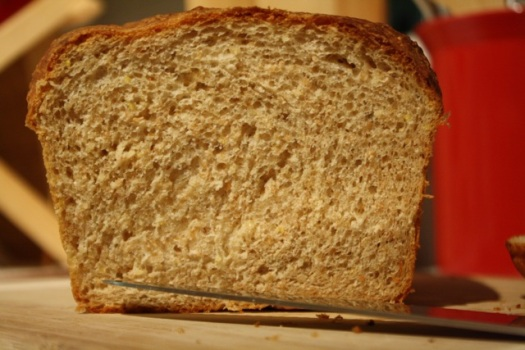 View of the crumb