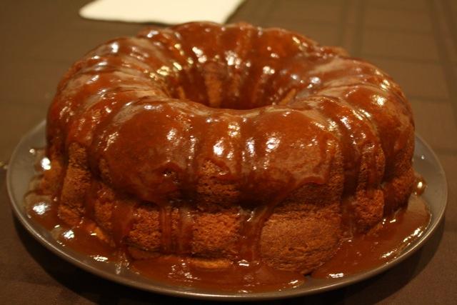 Kahlua Cake Bundt With Butterscotch