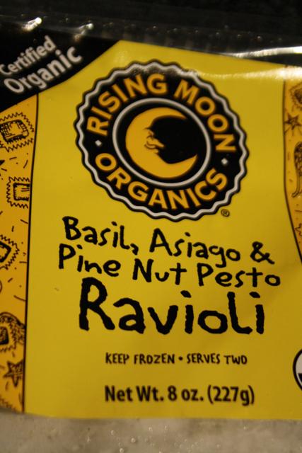 Basil, Asiago & Pine Nut Pesto Ravioli