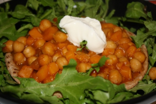 Chickpea Kuri Curry