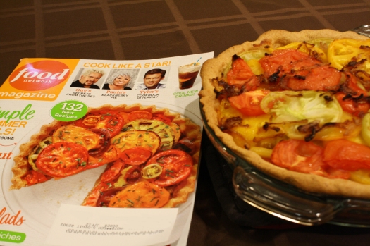 Tomato Pie and Food Network Magazine