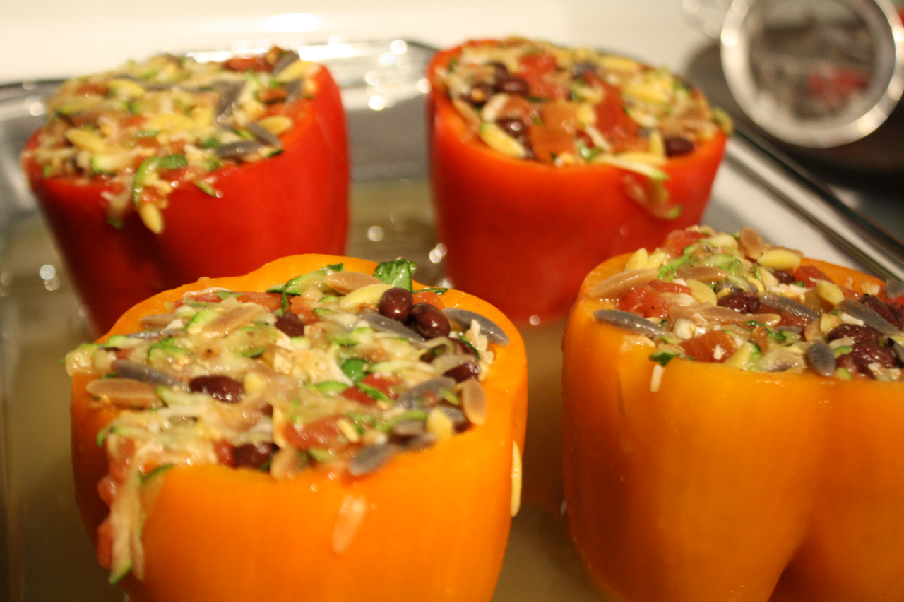 Southwestern Stuffed Peppers | White House Dinners