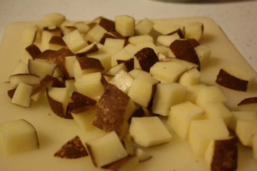 Diced Russet Potatoes