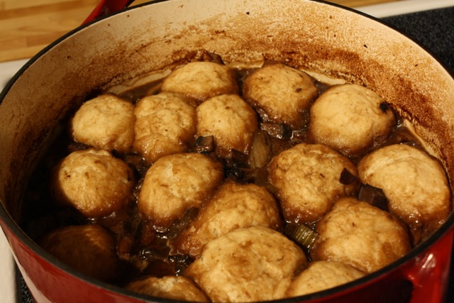 Jamie Oliver S Beef And Guinness Stew With Dumplings White House Dinners