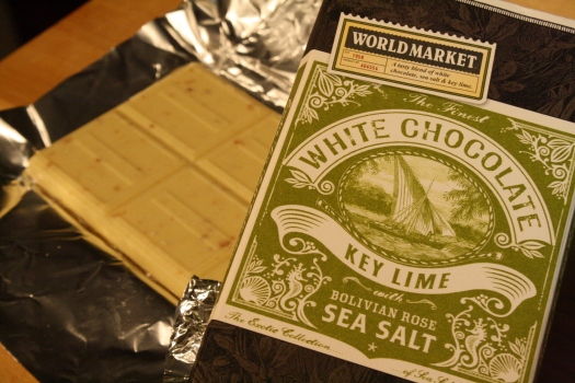 Lime and Salt White Chocolate