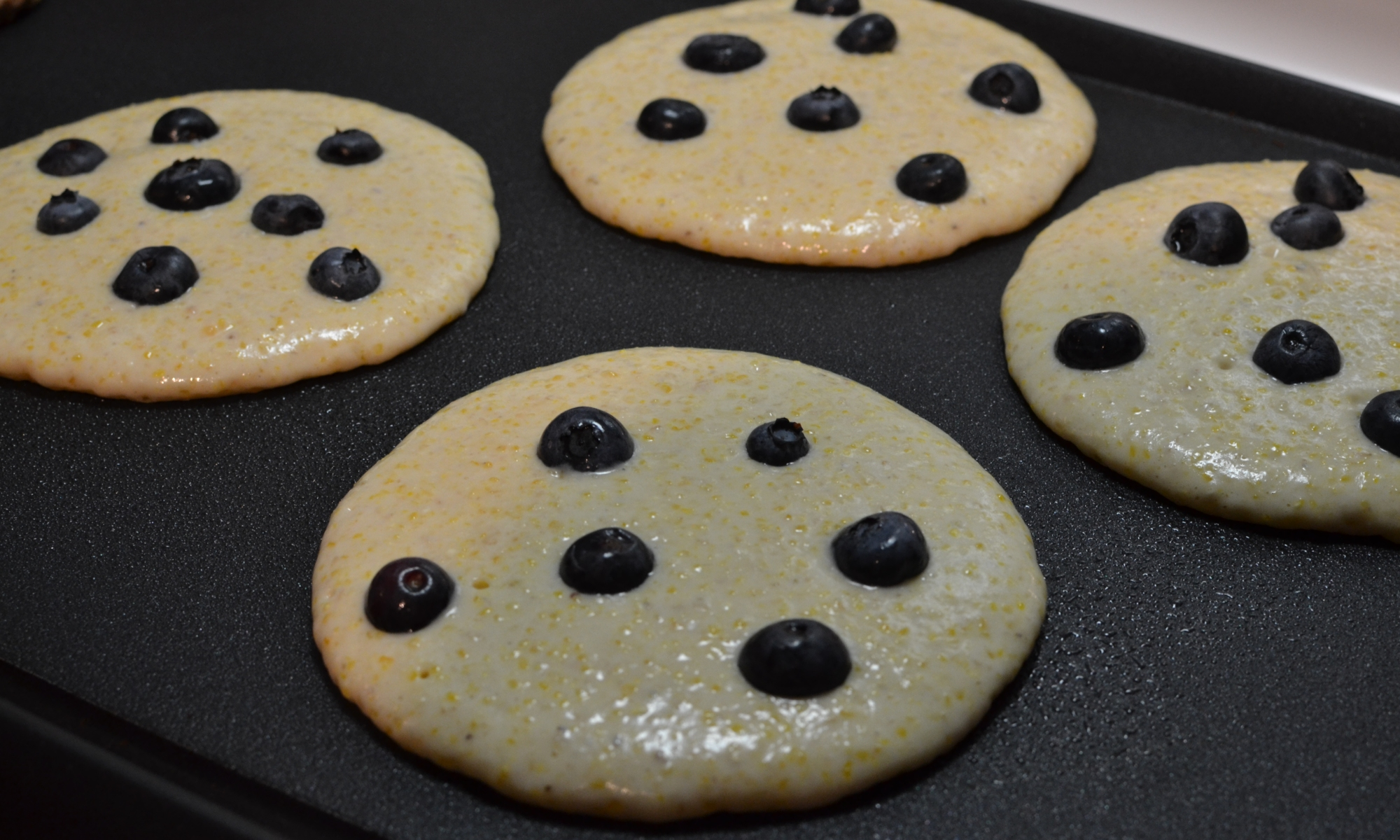 (Lighter) Blueberry panckaes