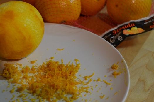 Fresh Orange Zest from Florida-Grown Oranges